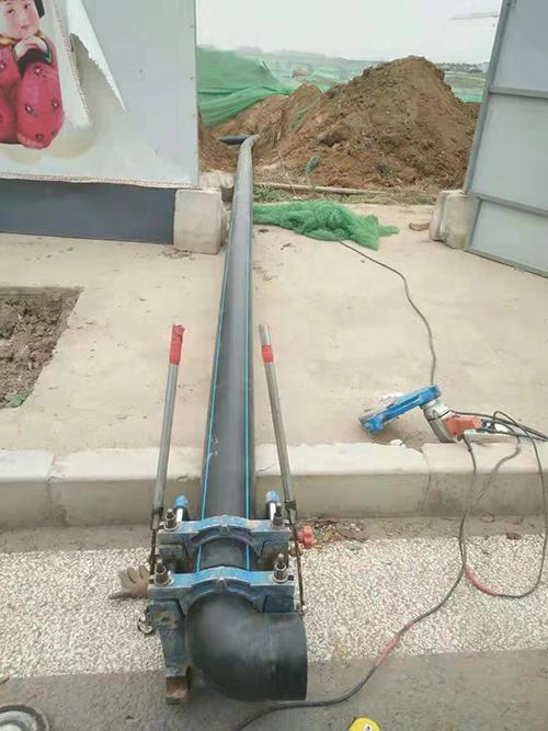 湘阴县pe给水管饮水工程案例