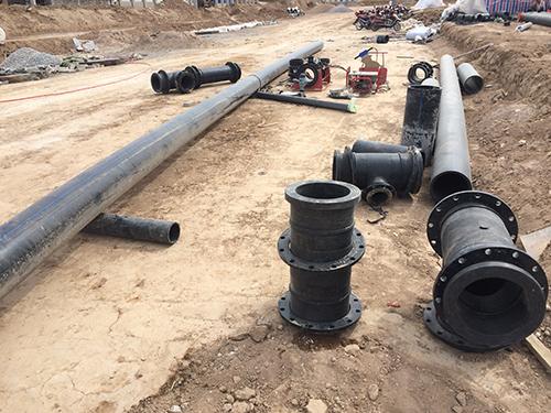 恒兴管业:PE给水管与法兰连接顺序及优点