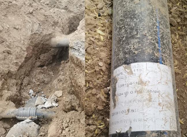 临夏达板镇水利PE给水管项目_恒兴管业国标管材