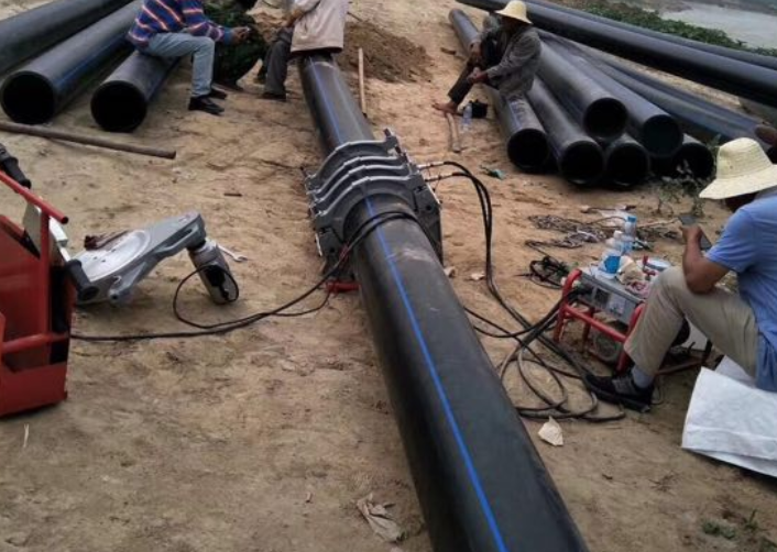 热熔pe管材翻边观察热熔连接标准规范